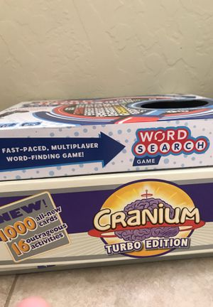 Board games pick up only for Sale in Phoenix, AZ