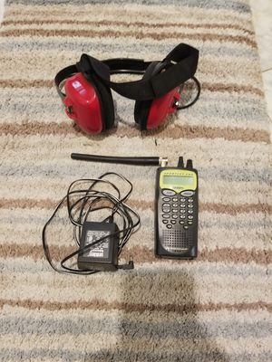 DIGITAL HANDHELD SCANNER AND HEADPHONES for Sale in Dallas, TX