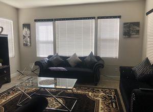 Brand new Sofa love seat & arm chair + coffee table $400 for Sale in San Bernardino, CA