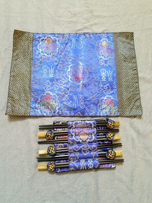 Chopstick and placemat set for Sale in Cumming, GA