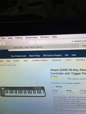 Alexis qx49 49keys advanced controller brand new in box for Sale in Queens, NY
