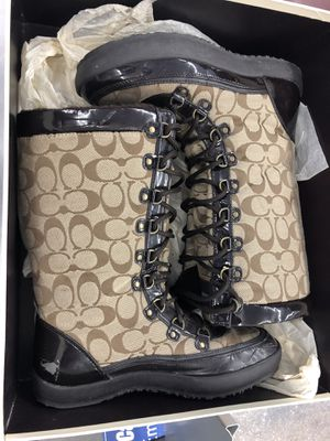 COACH BOOTS for Sale in San Antonio, TX