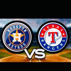 Astros VS Rangers tickets 09-17-19 for Sale in Deer Park, TX