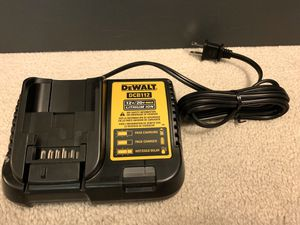 Brand new DeWALT 12-Volt and 20-Volt MAX Lithium-Ion battery charger DCB112 for Sale in Arcadia, CA