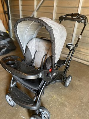 Double stroller for infant/ toddler for Sale in Long Beach, CA