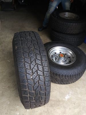 Four Wheels ( Comes With Rims ) for Sale in Waldorf, MD