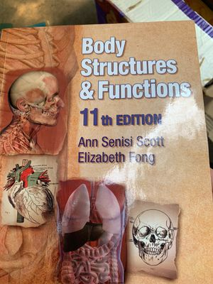 Body Structures and Functions (Texas Science) 11th Edition ISBN-13: 978-1428304192, ISBN-10: 1428304193 for Sale in Sacramento, CA
