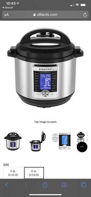 Instant Pot 8qt for Sale in Bell, CA