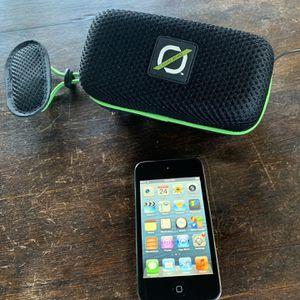 iPod Touch 4 (16 GB) + Speaker for Sale in Danville, CA