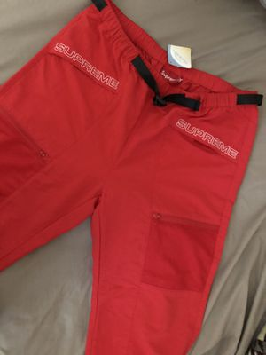 Supreme Utility Belted Pant Bright Red for Sale in South San Francisco, CA