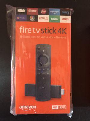 4K Fire Tv Stick for Sale in Chicago Ridge, IL