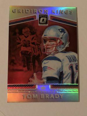 2017 Optic Tom Brady silver prizm for Sale in Escalon, CA