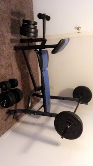 Weight set for Sale in Evansville, IN