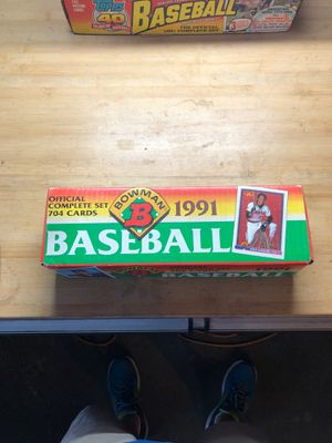 1991 Bowman complete set for Sale in Plano, TX