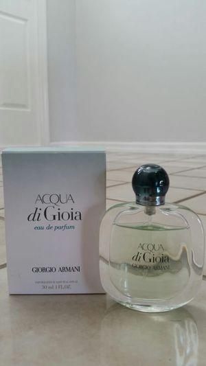 Giorgio Armani Acqua di Gioia Eau de Parfum 1.7 oz for Sale in Spring Hill, FL