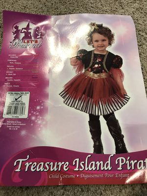Pirate costume toddler for Sale in West Chester, PA