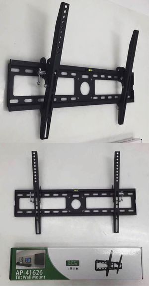 New in box 32 to 65 inches tilt tilting tv television wall mount bracket flat screen plasma 88 lbs capacity soporte de tv for Sale in Covina, CA