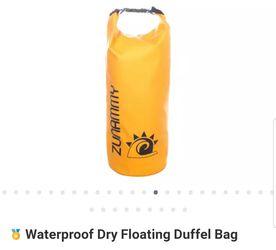 Waterproof Floating Duffle Bag ORANGE for Sale in Winter Haven,  FL