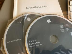 Mac OS X Install Disks 1&2 for Sale in Mesa, AZ