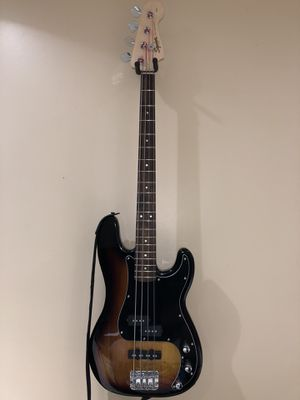 Fender Squire precision bass guitar for Sale in Medina, OH
