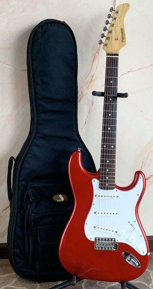 Vintage 1990's Fernandes LE-2 Stratocaster Guitar - Candy Apple Red - Japan for Sale in Palos Hills, IL