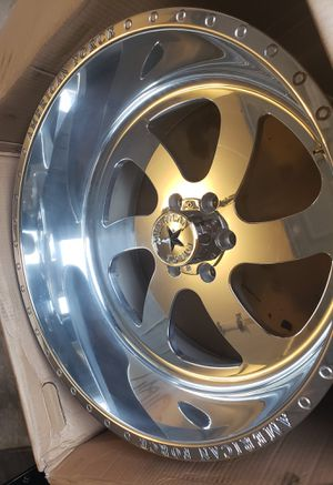 American Force wheels american force rims 22x12 for Sale in Houston, TX