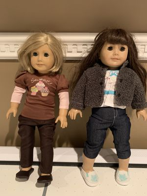 American Girl Dolls Isabelle and Samantha for Sale in Essex, MD