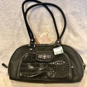 Strada Women's Black Vinyl Purse Bag ******BRAND NEW****** for Sale in Westminster, CA