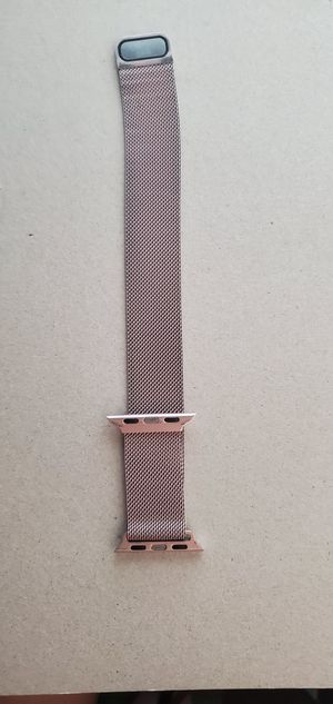 Stainless steel apple watch band for Sale in Chula Vista, CA
