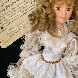 Ashley Belle Collection Antique Doll With Cert for Sale in Glendale,  CA