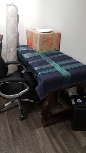 Nice office desk and office chair for sale for Sale in Colorado Springs, CO