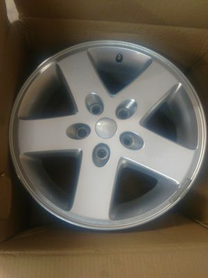 Jeep JK stock wheels 150.00 I have 5 for all for Sale in Fountain Hills, AZ