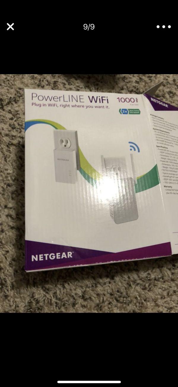 Netgear powerline WiFi 1000 extender