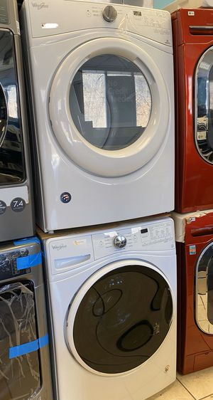 Brand New Whirlpool Front Load Washer and Electric Dryer Set (Scratch and Dent) for Sale in Elkridge, MD