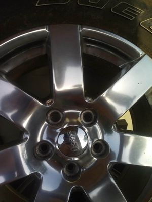Jeep Wrangler rims and tires for Sale in Houston, TX