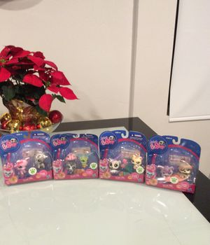 Littlest pet shop #1824and#1823 #1822and#1821 #1820and#1819 #1816and#1815 for Sale in Downey, CA