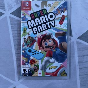Super Mario party Nintendo Switch Game for Sale in Lubbock, TX