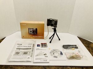 Canon Powershot A590 IS Digital Camera Bundle Kit for Sale in Spring Hill, FL