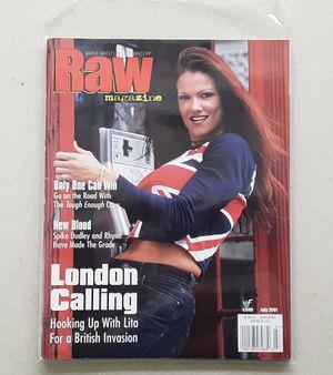 WWF WRESTLING MAGAZINE 2001 LITA for Sale in Pico Rivera, CA