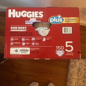 Huggies Little Movers Size 5 for Sale in Chino, CA