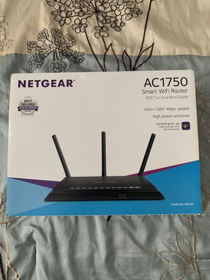 Netgear AC1750 Smart WiFi Router brand new for Sale in Raleigh, NC