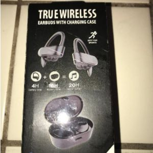 BRAND NEW! SEALED! True WIRELESS Headphones Earbuds! With/ CHARGING CASE! AMAZING SOUND! AMAZING QUALITY! ***RARE!*** for Sale in Mesa, AZ