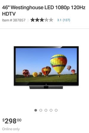 Westinghouse Tv for Sale in Modesto, CA
