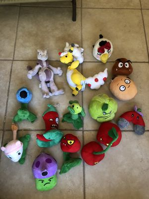 Pokémon / Plants vs Zombies / Mario / Angry Birds for Sale in Phoenix, AZ