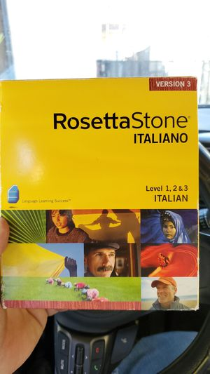 Rosetta Stone Italian Version 3 for Sale in Las Vegas, NV