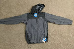 Columbia Men's Glennaker Lake Packable Rain Jacket Gray Ash Small New for Sale in Arlington, VA