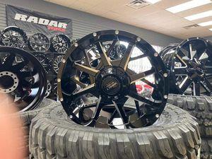 20x10 MONKEY WHEELS AND TIRES 33125020 for Sale in Phoenix, AZ