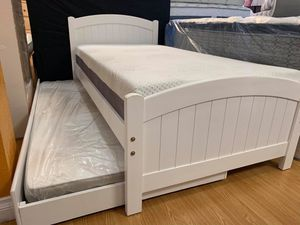 New bed twin over twin with mattress included for Sale in Fountain Valley, CA