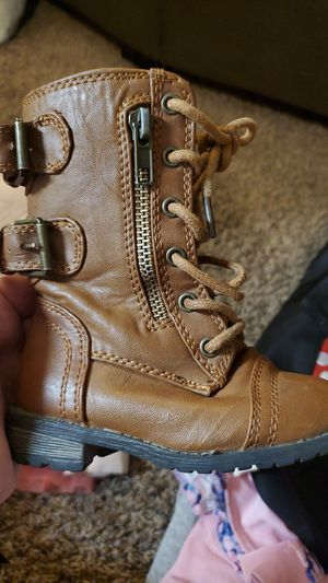 Combat boots baby girl for Sale in Joint Base Lewis-McChord, WA