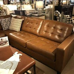 Baskove Auburn Large Leather LAF Sectional Ashley ↗️$39 Down Payment 100 Days Same As Cash for Sale in Austin,  TX